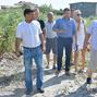 The departure of the working group on ecology and nature management in the village of Zatoka was held