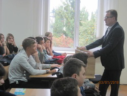 The head of the Migration Service of Vinnytsya held a lecture to students Vinnitsa Institute of the University of Ukraine