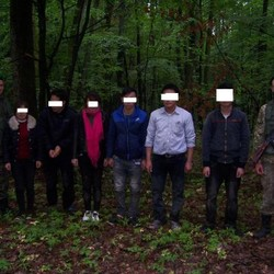During night operations Ukraine and Slovakia border guards detained 15 citizens of Vietnam