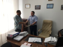 With words of gratitude to the Office of the LCA of Ukraine in the Khmelnytsky region