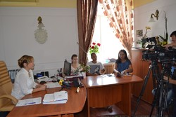 In the Department of Internal Affairs of Ukraine in the Rivne region A briefing for journalists was held