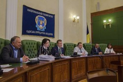 "In the National University ""Odessa Law Academy"" held a meeting of the Academic Council"