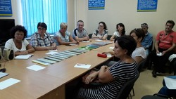 An event for persons of pre-retirement age at the Black Sea City Employment Center