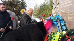 In the Kharkiv region paid tribute to the combatants in other states