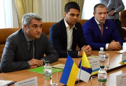 Meeting of the leadership and deputy corps of the Odessa Regional Council with the official delegation of the AER