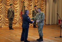 In the Zhytomyr Regional Philharmonic Svyatoslav Richter noted The 15th anniversary of the creation of the Northern Regional Office of the State Border Guard Service of Ukraine
