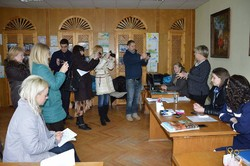 Regional headquarters on social security of journalists visited displaced rizyh regions of Ukraine