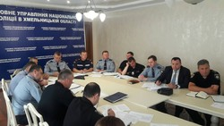 Acting Head of the Migration Service Khmelnytskyi took part in the video-meeting meeting of the leadership of the Ministry of Internal Affairs of Ukraine in the premises of the GUUN in the Khmelnytsky region