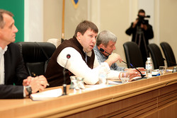 The meeting adviser Interior Minister of Ukraine - in Dnipropetrovsk region creating a working group of community activists