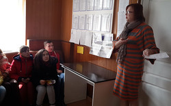 Вerezhansky students talked about the ID-card