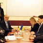 Meeting Chairman LCA Maxim Sokolyuk Extraordinary and Plenipotentiary of Belgium to Ukraine Luc Jacobs