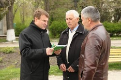 The leader of farmers in Chernivtsi personally went to collect signatures against wild land market