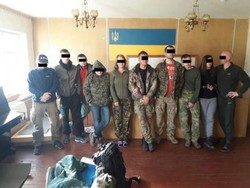 Border guards together with police detained 10 extremists who tried to illegally enter the exclusion zone