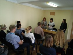 In Kyiv migration service has successfully completed six-month study of foreign languages in a special program
