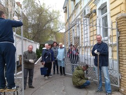"Employees of the migration service of Poltava took part in the ""For clean environment"" and Day blahoustriyu"