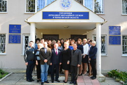 Representatives of the Main Forensic Science Center trained specialists of the Migration Service of Chernigiv region to detect invalid documents
