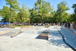 In Odessa, opened the largest skate park in Ukraine