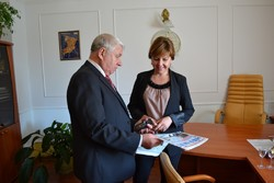 "Meeting the chief editor of ""Migration"" with the head of the migration service of Rivne"