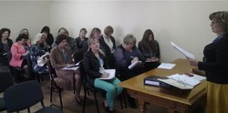 In Kiev the seminar on registration of biometric passports for traveling abroad