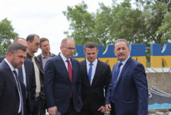 The head of the field Maxim Stepanov personally inspected the state of repair of roads of national importance T-16-28 / M-15 / Spassky - Vylkove.