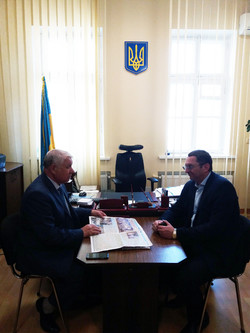"In the Department of the State Tax Inspectorate in the Ternopil region, the chief editor of the specialized edition ""Migration"" visited the working visit"