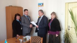In Rozhyshche regional migration service sector Volyn new leader.