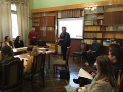Chernivtsi future historians and political scientists reported on passports