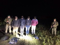 Border guards arrested illegal immigrants from India, Pakistan and Moldova