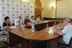 Kharkiv region OSCE observers visited