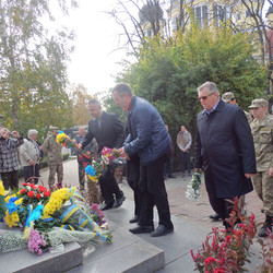 The Day of Defender of Ukraine was celebrated in Chernivtsi